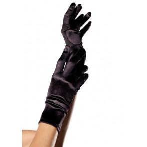 Leg Avenue kurze Satin Handschuhe