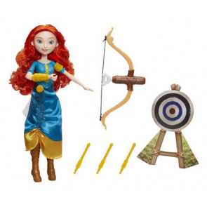 Hasbro Disney Prinzessin Glaube an Dich Prinzessin - Meridas Pfeil und Bogen Abenteuer