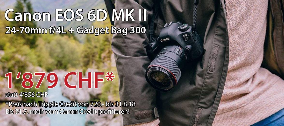 Canon EOS 6D Triple Credit