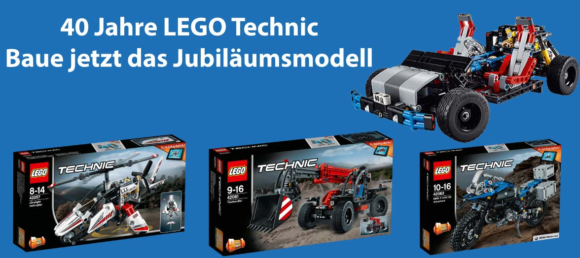LEGO Technic 40 Jahre Jubiläumsmodell