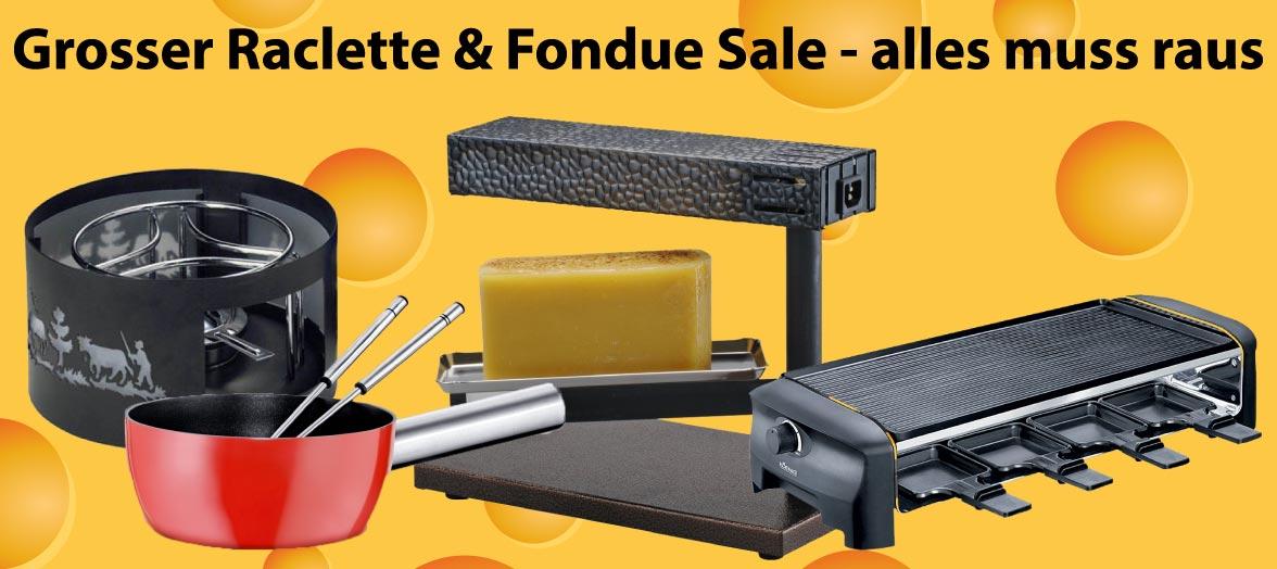 Fondue Raclette Sale