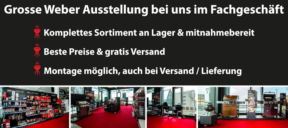 Weber Grill Ausstellung
