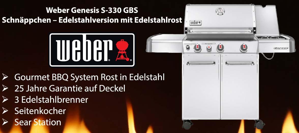 Weber Genesis S-330 GBS Edelstahl 6